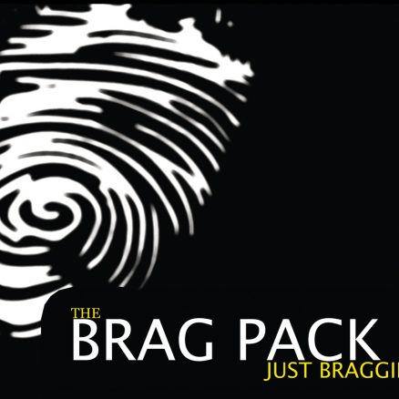 The Brag Pack - Just Braggin' Cover Front